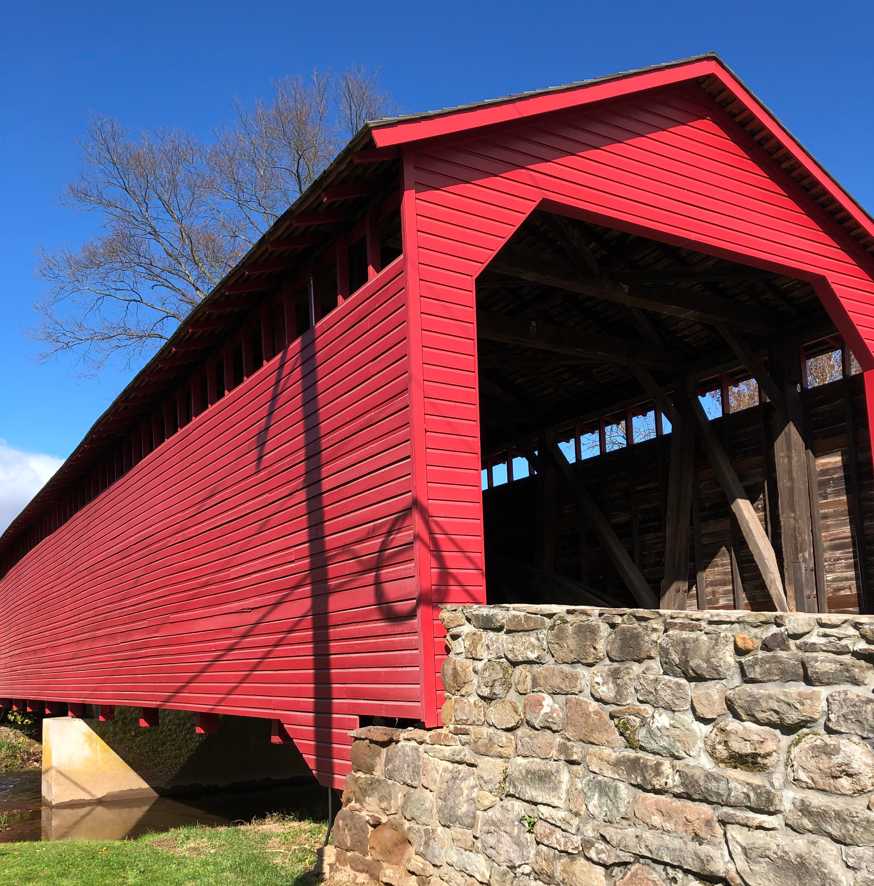 photo of covered bridge